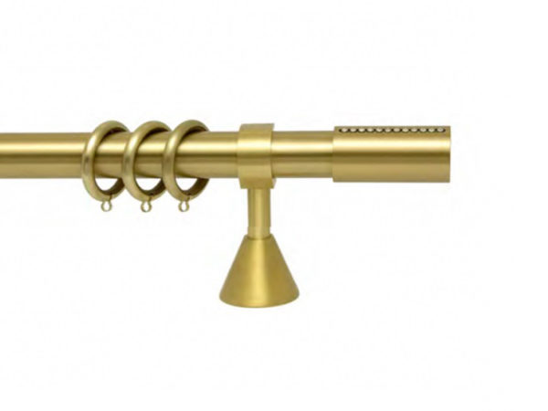 ΚΟΥΡΤΙΝΟΞΥΛΟ Best b045 Ø35 Χρυσό ματ-swarovski